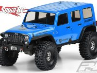 Pro-Line Jeep Wrangler Unlimited Rubicon Clear Body TRX-4