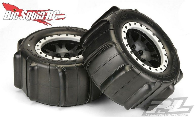 Pro-Line Sling Shot 4.3 Pro-Loc Sand Tires Pre-Mounted