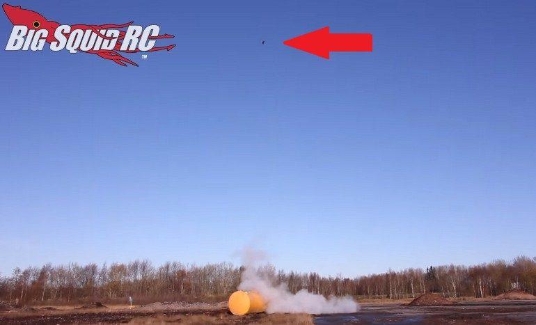 RC Car Rocket High Jump