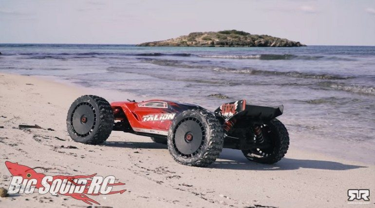 ARRMA Talion Beach Attack Video