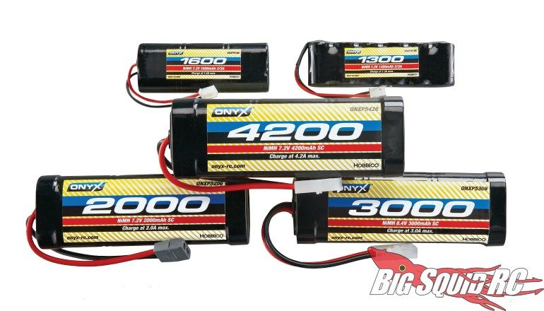 New Onyx NiMH Batteries