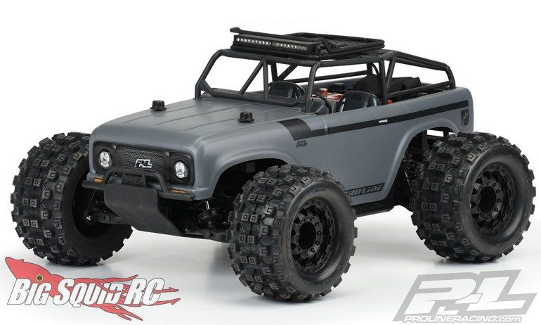 Pro-Line Ambush Body Ridge-Line Trail Cage