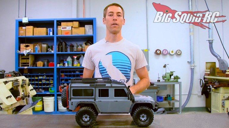 Pro-Line Traxxas TRX-4 Hop-Ups Upgrades Option Parts Video