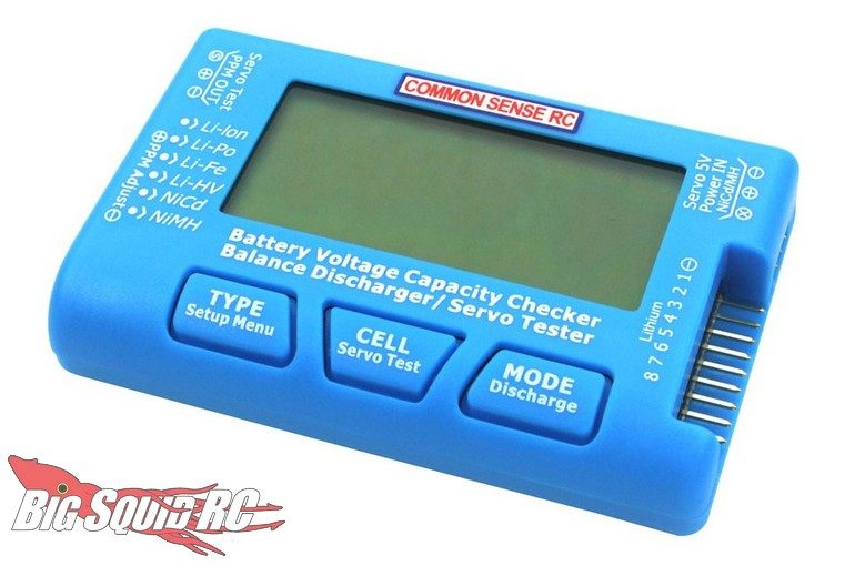 Common Sense RC LiPo Voltage Checker