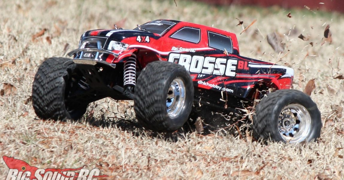 DHK Hobby Crosse BL 4WD Monster Truck Review