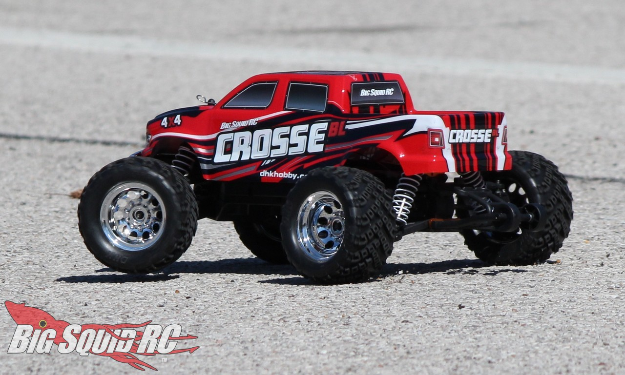 dhk hobby crosse bl 4wd monster truck review big squid rc rc car and truck news reviews. Black Bedroom Furniture Sets. Home Design Ideas