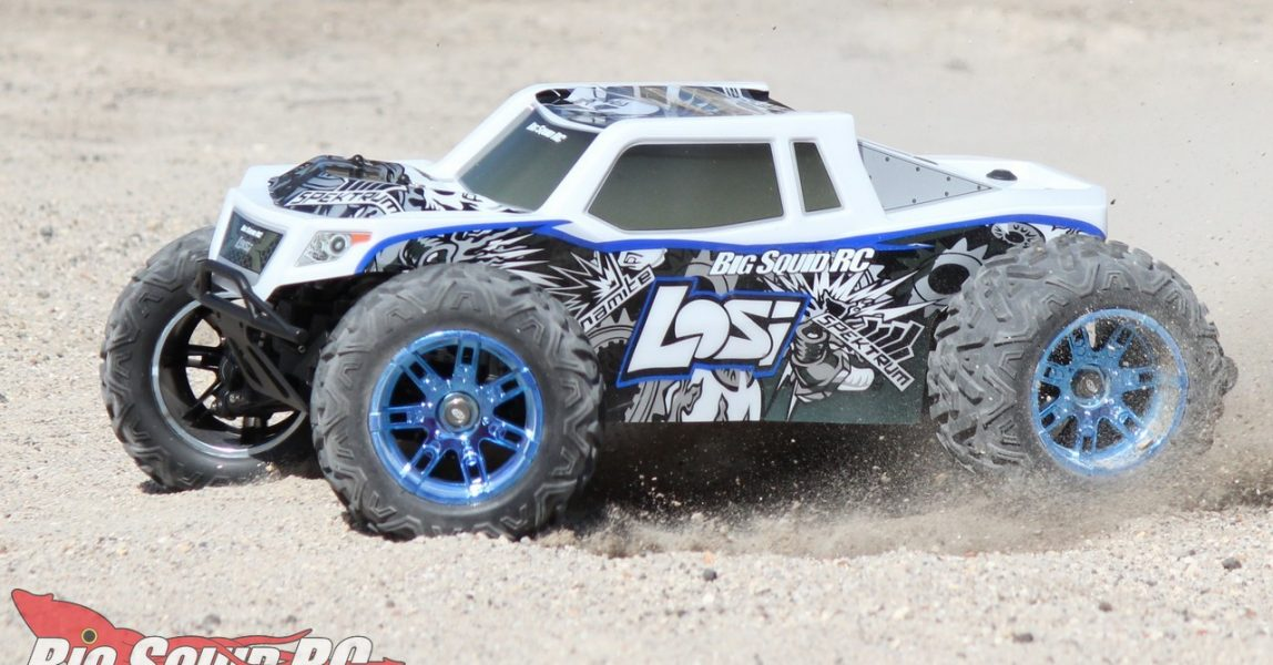 Losi LST 3XL-E Monster Truck Review