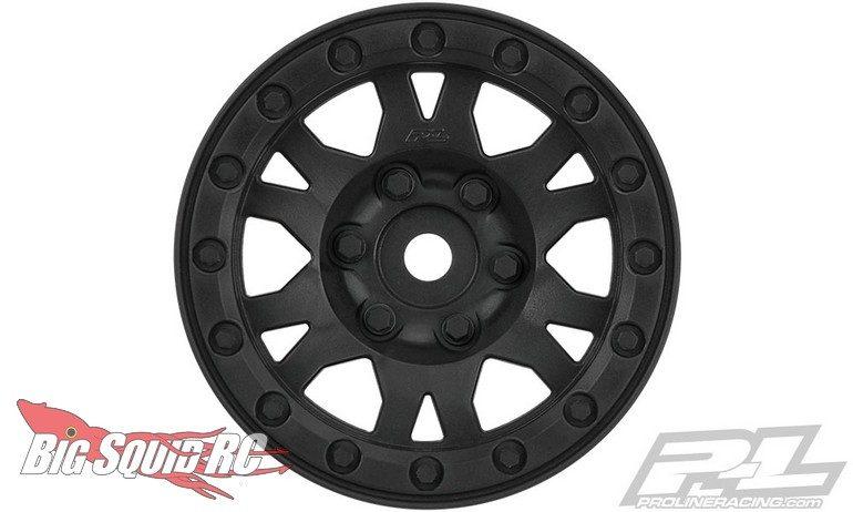 Pro-Line Impulse 1.9 Black Plastic Internal Bead-Loc Wheel