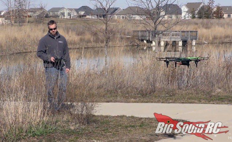 RISE ARCHON GPS Drone Video