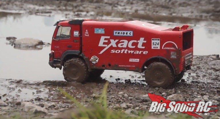 Video RC4WD Dakar Rally Truck