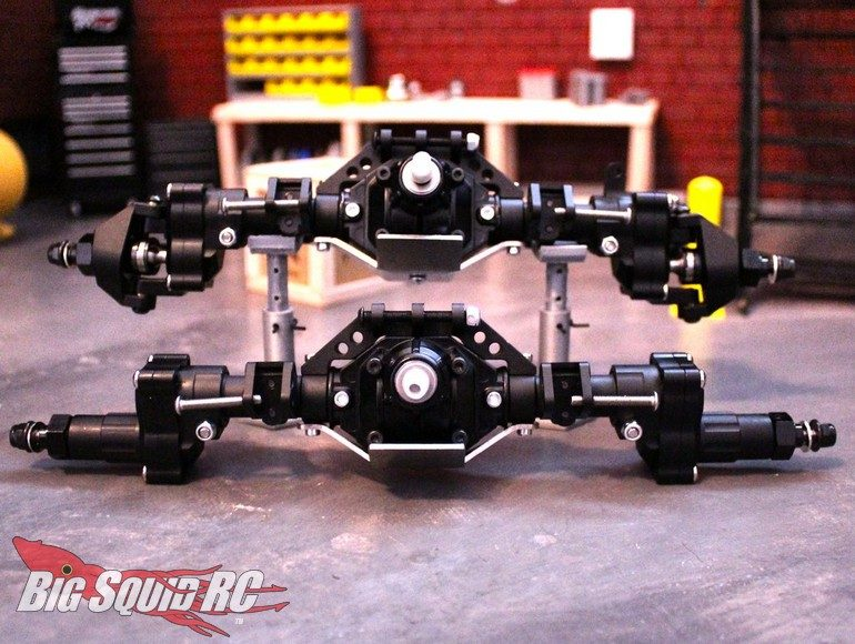 Deadloc Racing SCX10II Loaded Hybrid Portal Axles