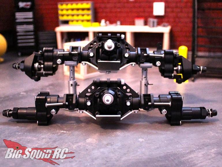 Portal Axle Design : Deadloc racing scx ii loaded hybrid portal axles