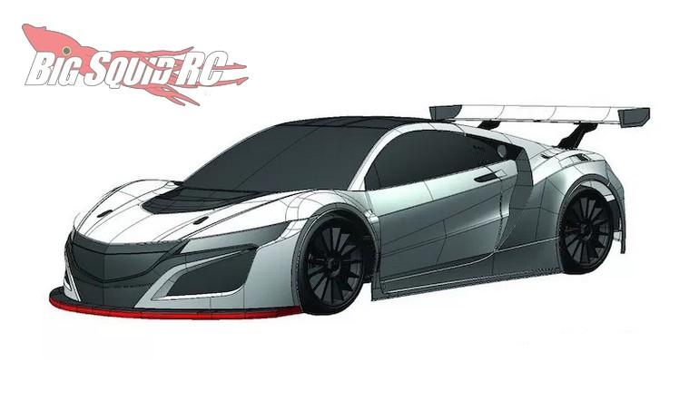 Kyosho Acura Nsx Gt3 Pureten Gp V One R4s Big Squid Rc Rc Car