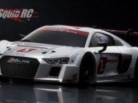 Kyosho Audi R8 LMS 2015 Mini-Z White