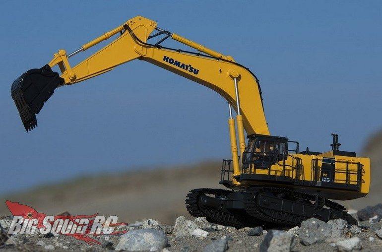 Kyosho Komatsu Hydraulic Excavator
