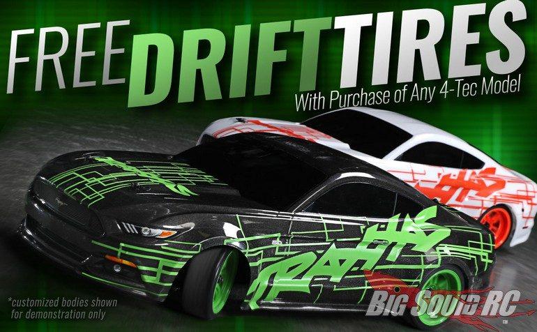 Traxxas 4-Tec Free Drift Tires