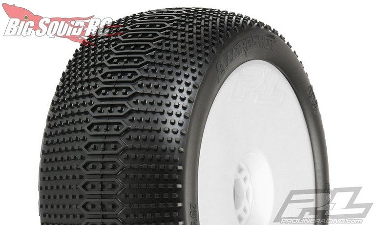 "Pro-Line Electroshot VTR 4.0"" X3 (Soft) Off-Road 1:8 Truck Tires Mounted"