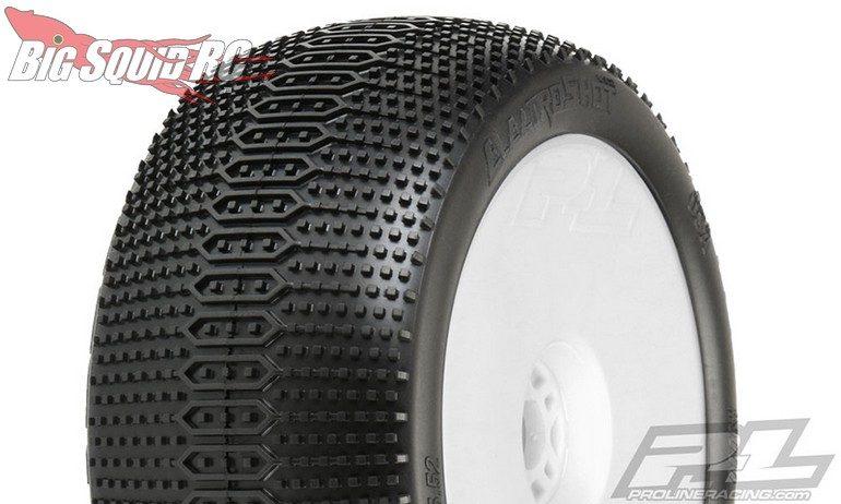"Pro-Line Electroshot VTR 4.0"" X3 (Soft) Off-Road 1:8 Truck Tires Mounted"