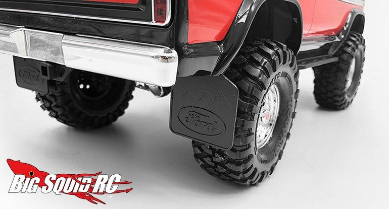 RC4WD Rear Mud Flaps TRX-4 Bronco