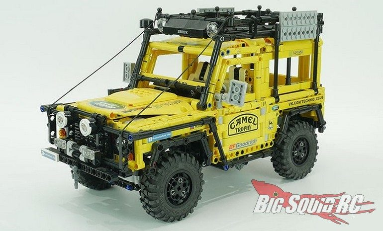 RC4WD Scale Tires Lego Rock Crawlers