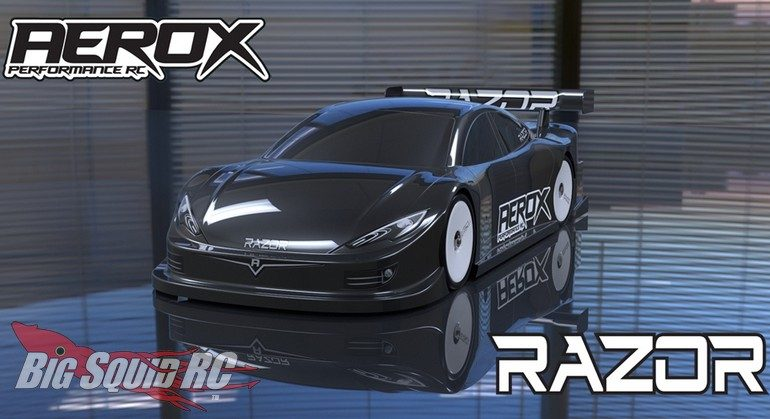 Schumacher Racing Aerox Razor Touring Car Body