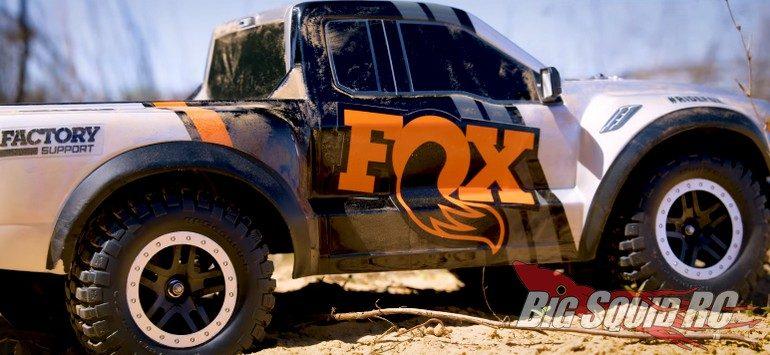 Traxxas Fox Edition Raptor Video