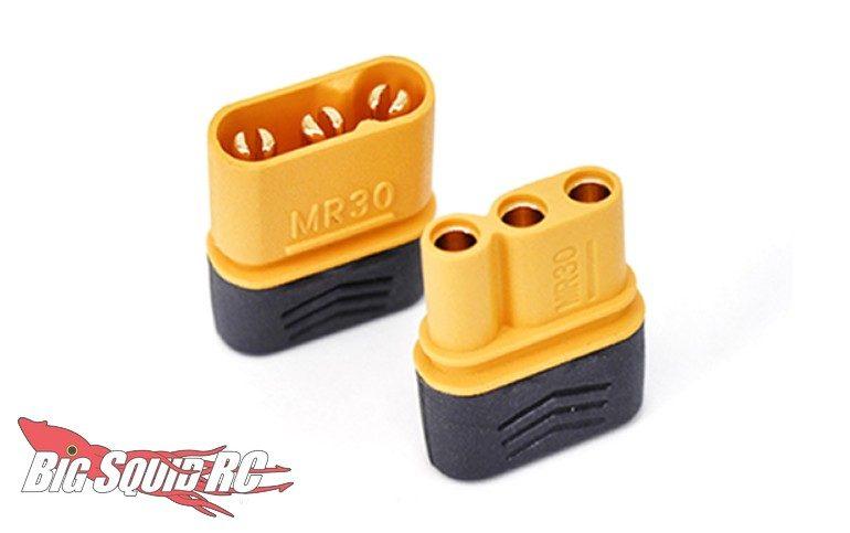 HRC Tri-Pole MR30 Gold Connectors
