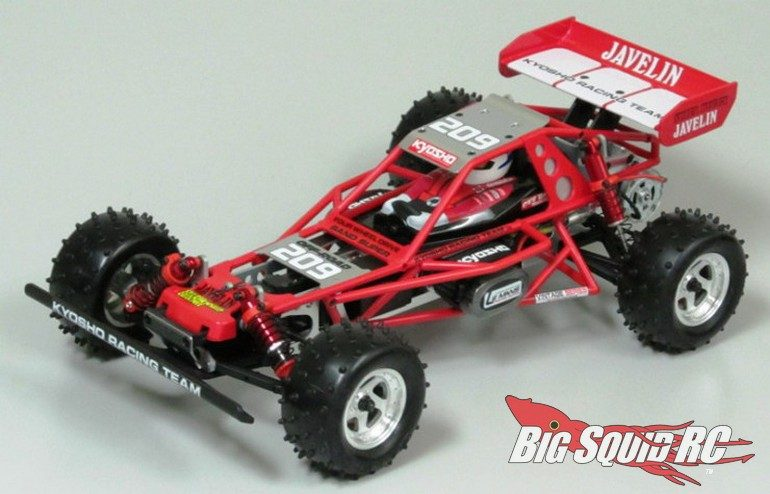 kyosho Javelin Red Black Roll Cage