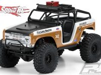 Pro-Line 1966 Ford Bronco Clear Body Ridge-Line Trail Cage