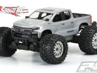 Pro-Line 2019 Chevy Silverado Z71 Trail Boss Clear Body