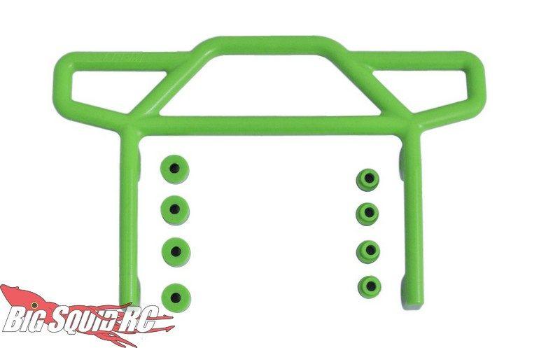 RPM Green Rear Bumper Traxxas Rustler