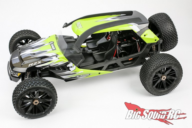 Rage RC 1/6 RZX Brushless Buggy « Big Squid RC – RC Car ...