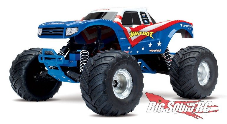 Red White Blue Traxxas Bigfoot