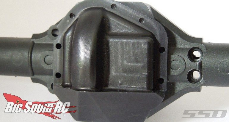 SSD HD D60 Front Diff Cover Wraith SMT10 Bomber