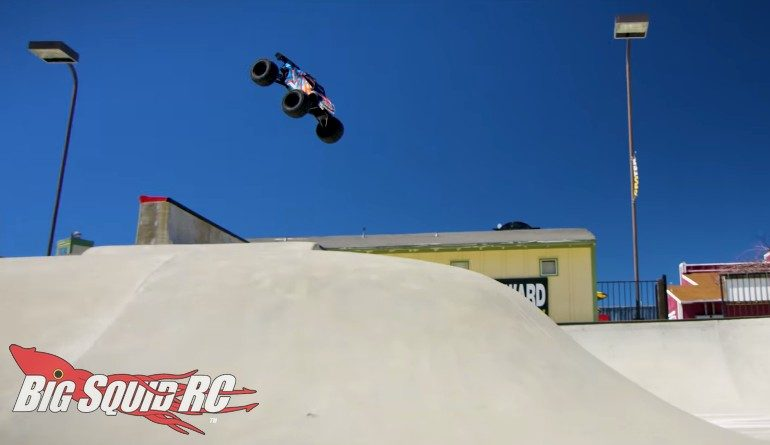 Traxxas E-Revo Camp Woodward West Video