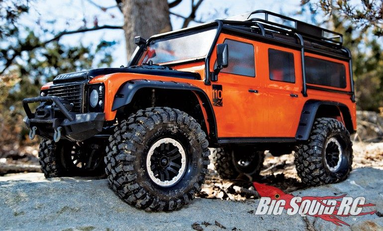 Traxxas Land Rover Defender Adventure Body