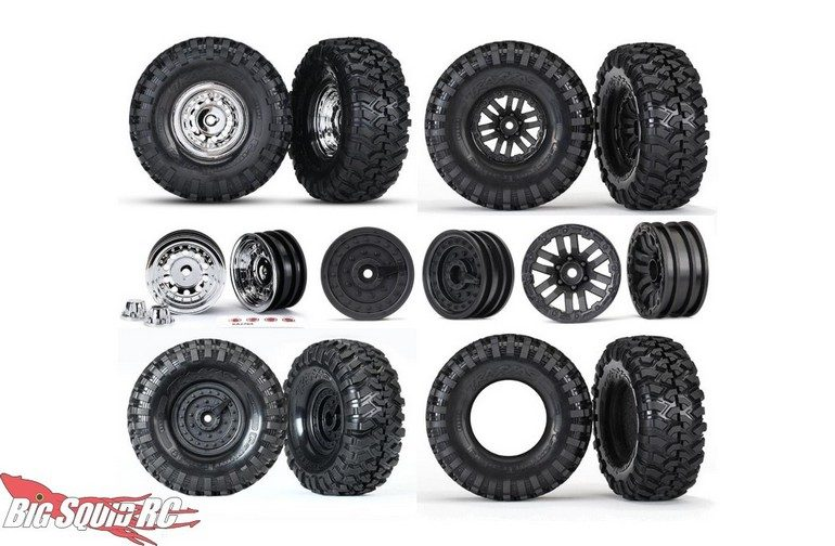 Traxxas TRX-4 Wheels Tires