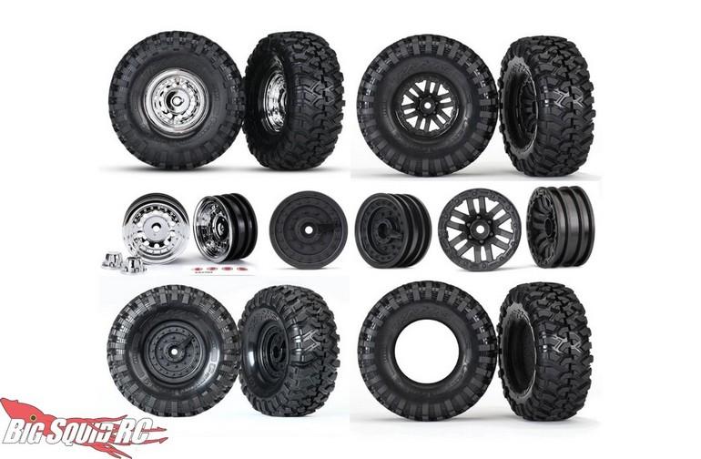 Traas Trx 4 Wheels Tires