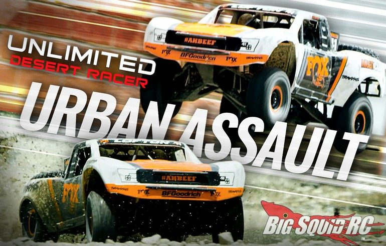 Traxxas Urban Assault Unlimited Desert Racer