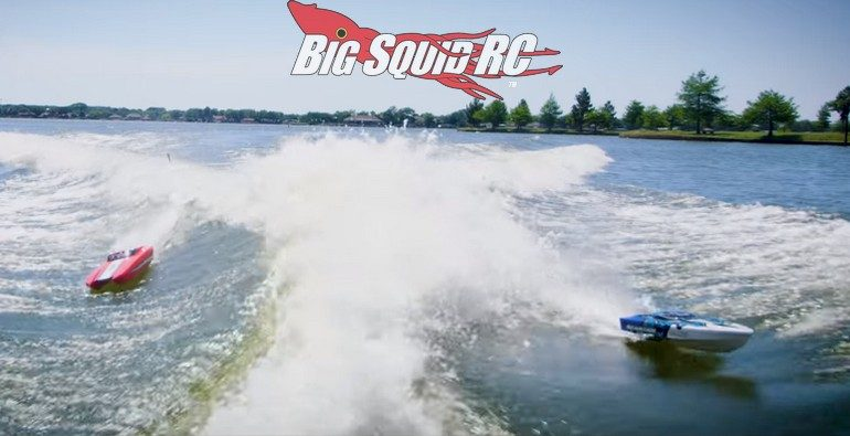 Traxxas Wake-Surfing an RC Boat