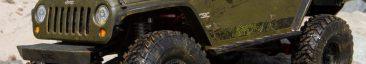 Axial Racing 2017 Jeep Wrangler Unlimited Rubicon Hardtop Body