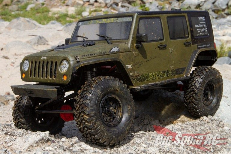 Axial Racing 2017 Jeep Wrangler Unlimited Rubicon Hardtop Body
