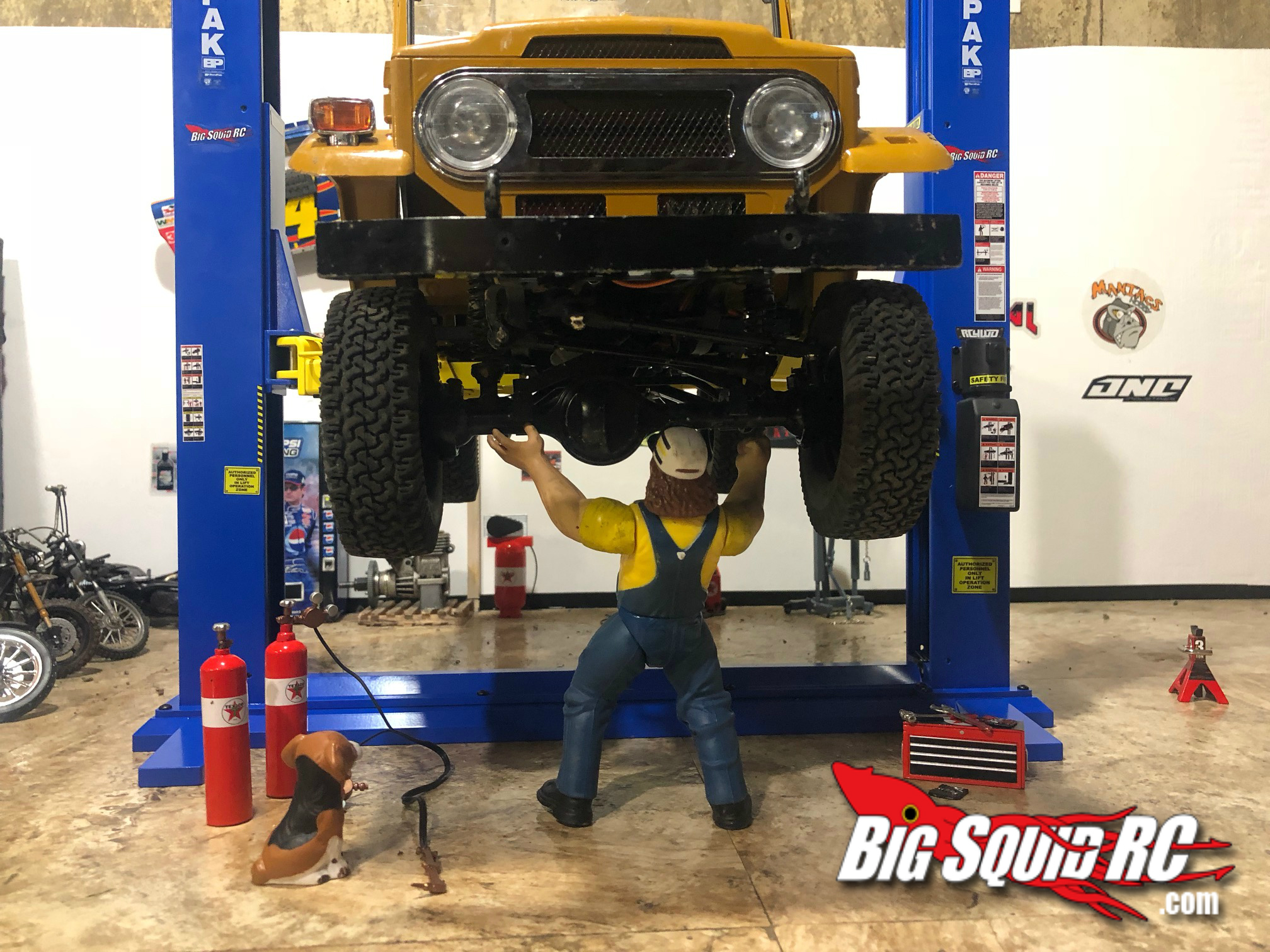 Bendpak Xpr 9 >> Accessory Review- RC4WD Bendpak XPR-9S Two-Post Auto Lift ...