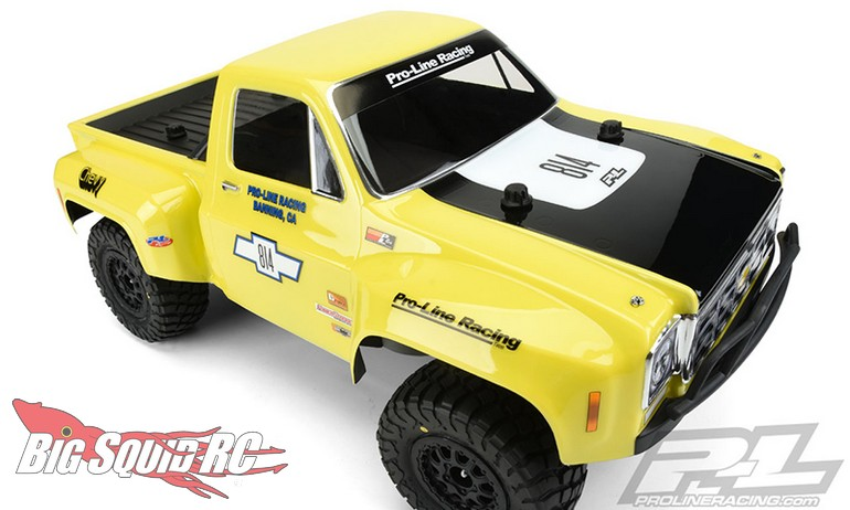 Tim Short Chevy >> Pro-Line 1978 Chevy C-10 Race Truck Body « Big Squid RC – RC Car and Truck News, Reviews, Videos ...