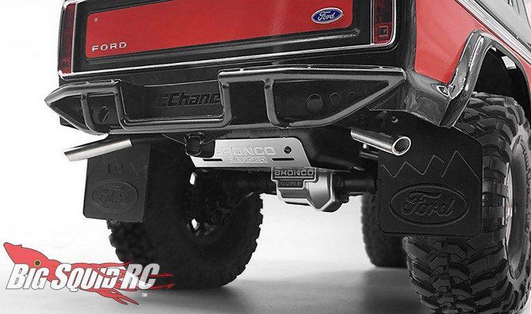 RC4WD Fuel Tank Dual Exhaust Traxxas TRX-4 Bronco