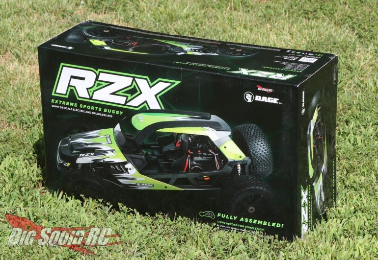 Rage RC RZX Buggy Unboxing