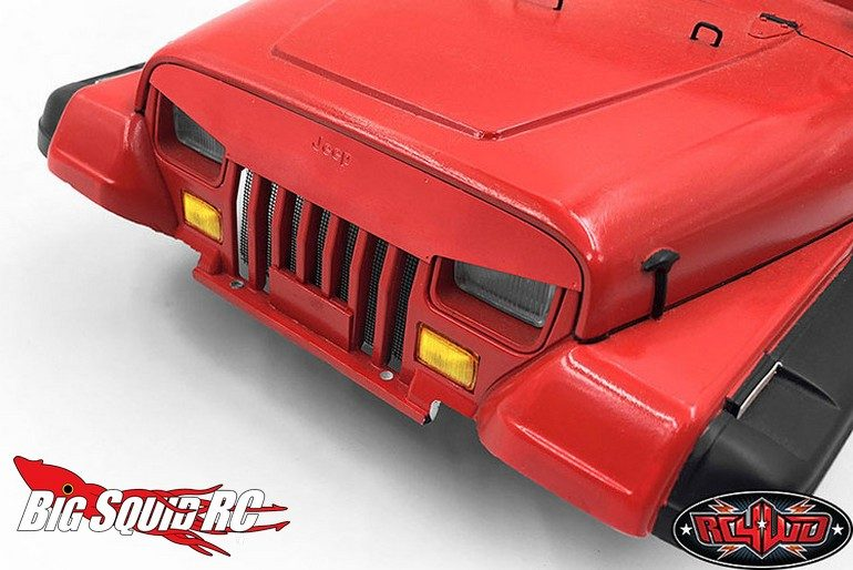 RC4WD Angry Face Grill Plate