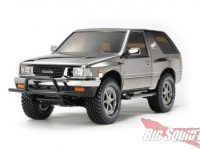 Tamiya Isuzu mu Type X Black Metallic