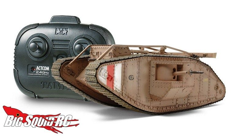 Tamiya WWI British Tank Mk IV Male