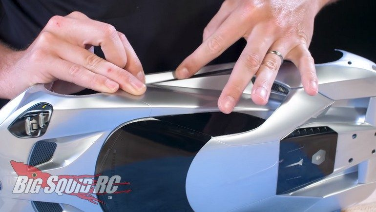 Traxxas Ford GT Body Assembly Video